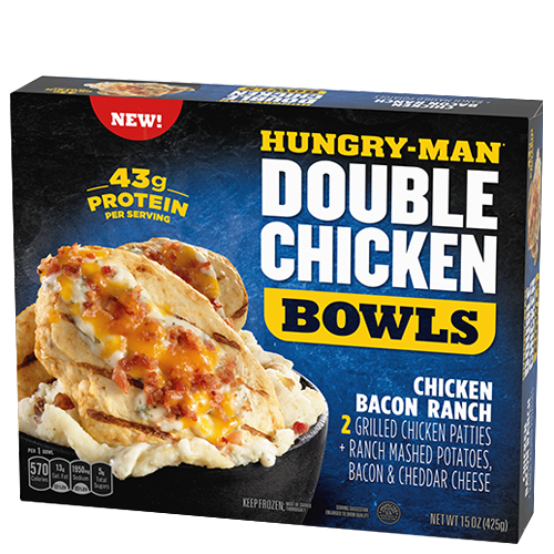 Hungry-Man Double Meat Bowls