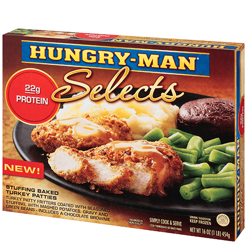 Hungry-Man Frozen Dinners | Eat Like a Man